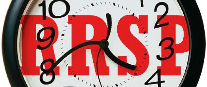 RRSP Deadline 2013 for 2012 RRSP Contribution